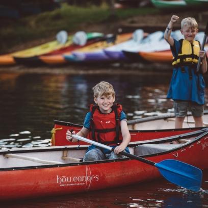 Open Canoeing - Birthday Party