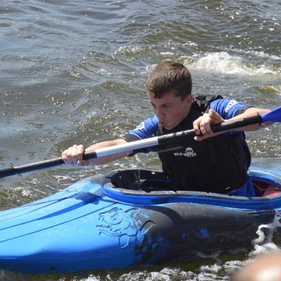 Kayaking - Birthday Party